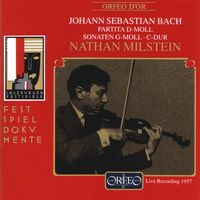 NATHAN MILSTEIN - Sonatas For Violin