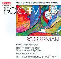 BORIS BERMAN - Piano Music 1