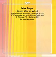 Gerhard Weinberger - Organ Works 4