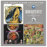 Iron Butterfly - Triple Album Collection [Import]