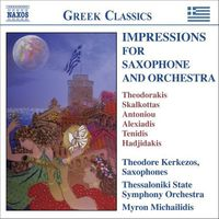 Theodore Kerkezos - Works For Saxophone & Orchestra