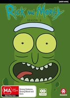 Rick And Morty [TV Series] - Rick And Morty: The Complete Third Season [Import]
