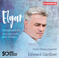 Doric String Quartet - Sir Edward Elgar: introduction & Allegro Symphony No 1