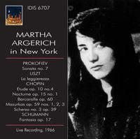Martha Argerich - Martha Argerich in New York