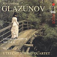 A. GLAZUNOV - Complete String Quartets 2