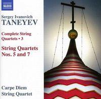 Carpe Diem String Quartet - Complete String Quartets 3: Nos 5 & 7