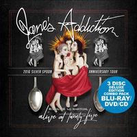 Jane's Addiction - Jane's Addiction - Alive At Twenty Five [Blu-ray + DVD + CD]