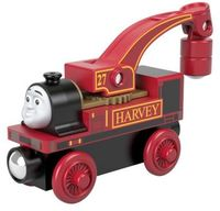 Thomas and Friends Wooden Railway - Fisher Price - Thomas and Friends Wooden Railway: Harvey