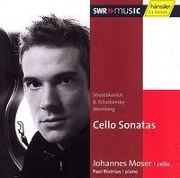 Johannes Moser - Cello Sonatas