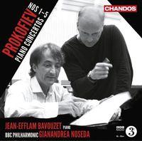 Jean-Efflam Bavouzet - Prokofiev: Piano Concertos Nos. 1-5
