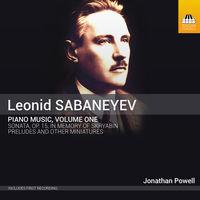 Jonathan Powell - Sabanayev: Piano Music