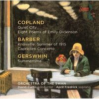 April Fredrick - Music By Copland & Barber & Gershwin
