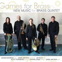 Western Brass Quintet - Games for Brass: New Music for Brass Quintet