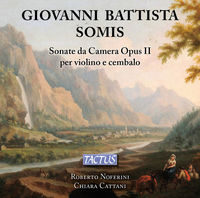 Roberto Noferini - Sonate Da Camera For Violin & Continuo