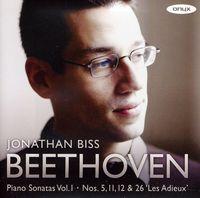 Jonathan Biss - Piano Sonatas Vol.1 / Piano Sonatas Nos.5 11 12