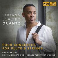 Eric Lamb - Four Concertos for Flute & Strings