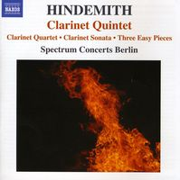 Spectrum Concerts Berlin - Clarinet Quintet / Clarinet Quartet