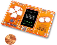 - MicroArcade Space Invaders
