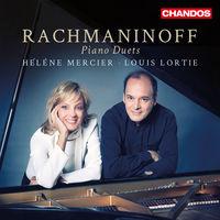 LOUIS LORTIE - Rachmaninoff: Piano Duets