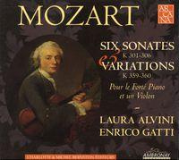 W.A. Mozart - Six Sonatas [Digipak]