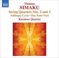 Kreutzer Quartet - String Quartets Nos. 2 & 3 / Soliloquy Cycle