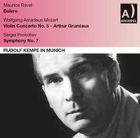 Bavarian Radio Symphony Orchestra - Rudolf Kempe in Munich Live 1960