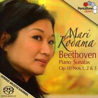 L.V. Beethoven - Piano Sonatas Op 10 Nos 1 2 & 3 (Hybr)