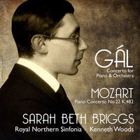 Gal / Briggs / Sarah Beth - Concerto For Piano And Orchestra (Jewl)