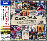 Cheap Trick - Japanese Singles Collection: Greatest Hits (Blu-Spec CD2 + DVD)