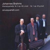 Sinusquartett.Com - Brahms Pianoquartets Op.25 & 60