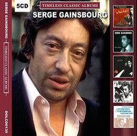 Serge Gainsbourg - Timeless Classic Albums (Uk)