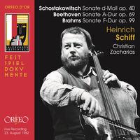 Heinrich Schiff - Sonatas