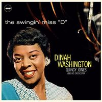 """Dinah Washington - Swingin' Miss """"""""D"""""""" With Quincy Jones And His Orchestra [Import LP]"""