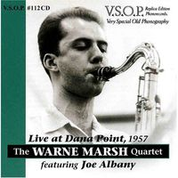 Warne Marsh - Live at Dana Point