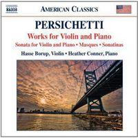 Hasse Borup - Persichetti: Works For Violin & Piano
