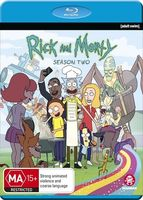 Rick And Morty [TV Series] - Rick And Morty: The Complete Second Season [Import]