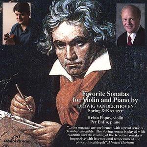 Favorite Sonatas By Beethoven Spring & Kreutzer