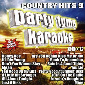 Party Tyme Karaoke: Country Hits, Vol. 9