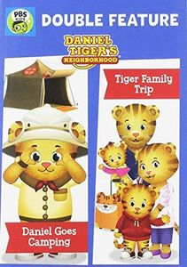 Daniel Tiger's Neighborhood Double Feature: Daniel Goes Camping And Tiger Family Trip