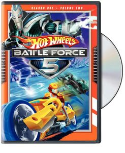 Hot Wheels Battle Force 5: Season 1 Volume 2