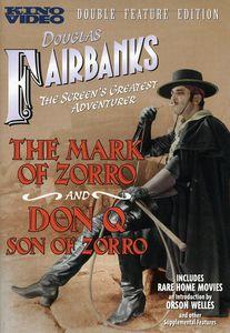 The Mark of Zorro /  Don Q, Son of Zorro
