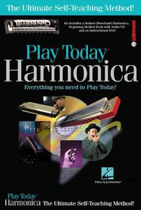 Play Harmonica Today! Complete Kit
