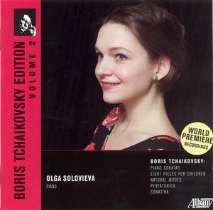 Boris Tchaikovsky Edition 2: Piano Music