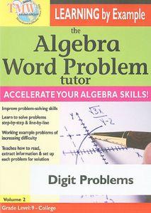 The Algebra Word Problem Tutor: Digit Problems