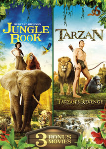The Jungle Book & Tarzan With 3 Bonus Movies
