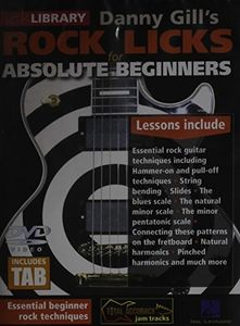 Rock Licks for Absolute Beginners