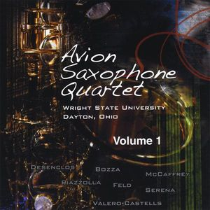 Avion Saxophone Quartet Vol. 1