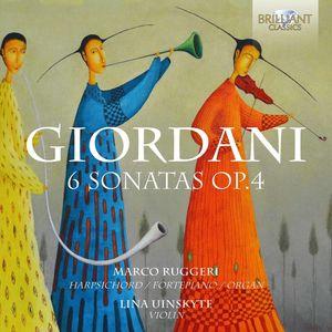 Tommaso Giordani: 6 Sonatas Op.4