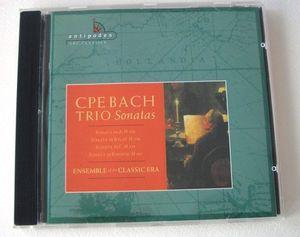 Bach C P E: Trio Sonatas