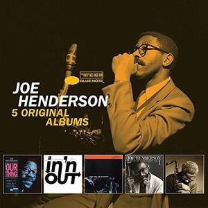 5 Original Albums by Joe Henderson